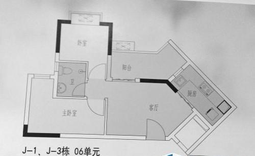 公租房三房一厅居然只有39平?
