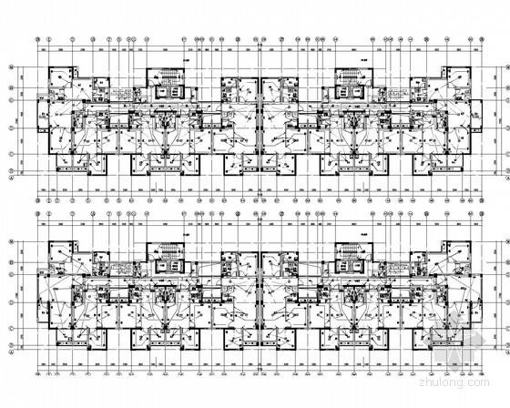 [安徽]44万平高层住宅建筑全套强弱电设计施工图315页(甲级设计院)