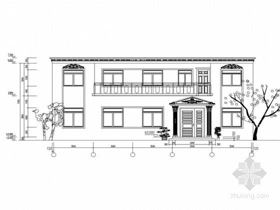 [河南]两层砖混结构农村自住房结构施工图
