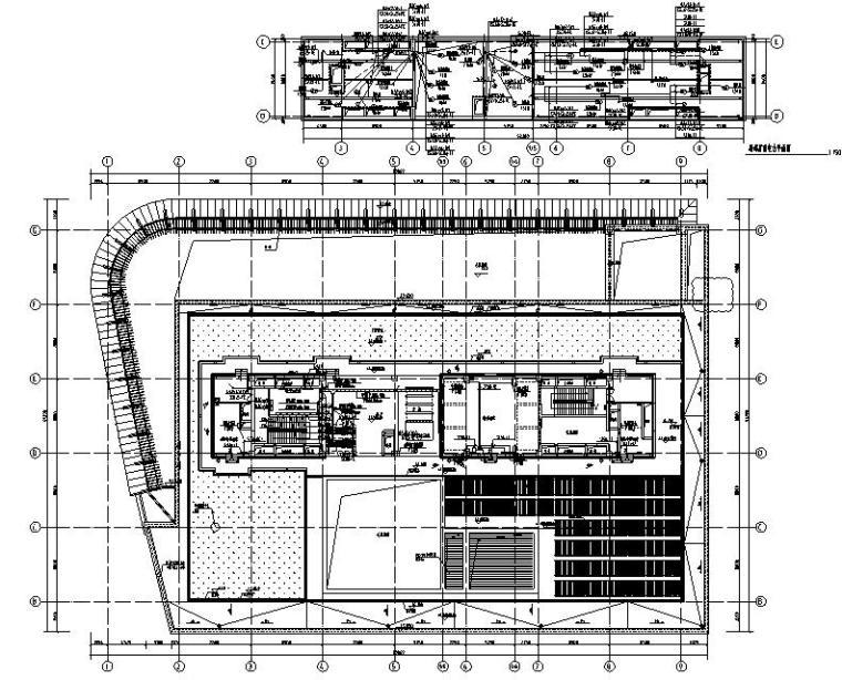机房层电力平面图
