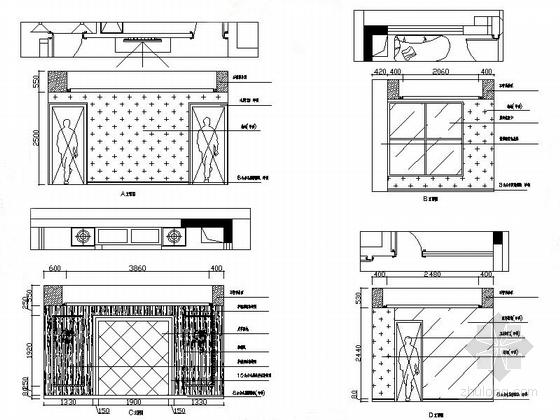 温馨简欧三层别墅设计装修立面图
