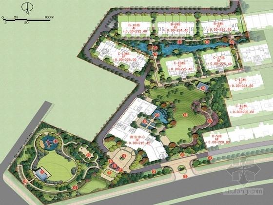 [洛阳]北方新中式山地园林别墅区景观规划设计方案(著名设计公司)
