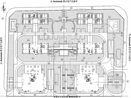[重庆]城市花园型居住区景观规划施工图