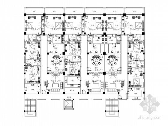 [课程设计]低层建筑楼空调系统初步设计图