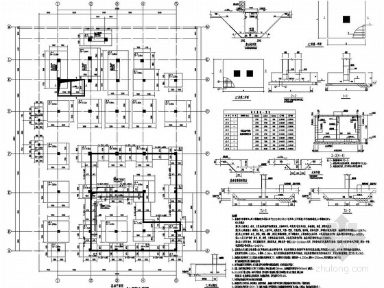 [河南]六层框架结构中医院综合病房楼结构施工图