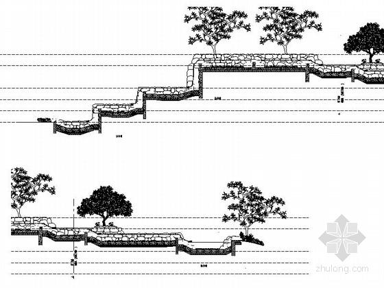 小溪布局施工图
