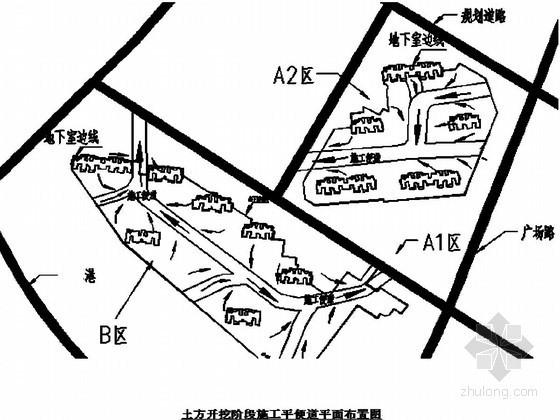 基坑开挖土钉喷锚支护施工方案(放坡开挖 基坑监测)
