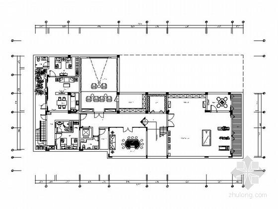 [海南]精品四层东南亚风格别墅室内装修施工图(含高清效果 图纸细致 推荐!)