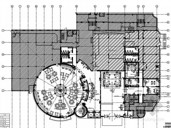 [北京]超奢华高档国际星级特色酒店设计施工图(含效果图)