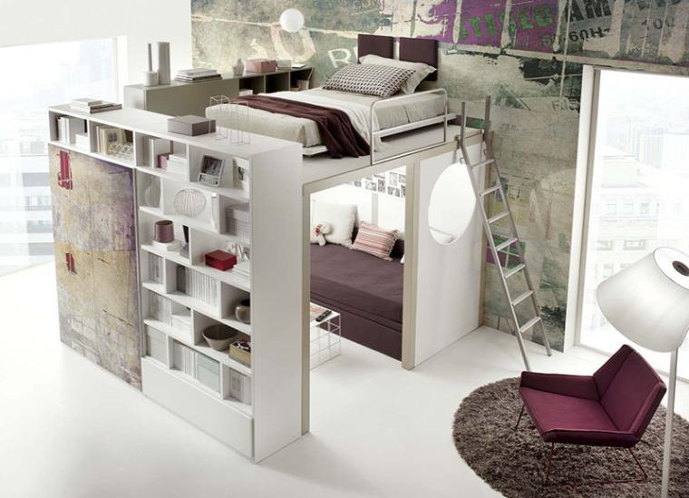谁说青少年卧室最难设计?呶这里有14个例子_14