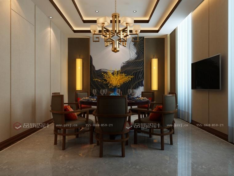 沈阳地产公司办公室设计效果图震撼来袭-5餐厅.jpg
