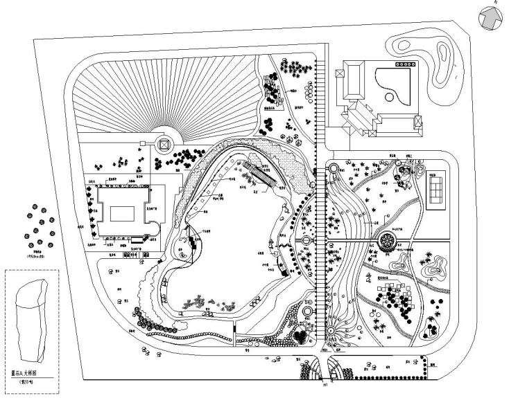 [分享]居住区图纸景观设计案例案例免费下载资料v图纸建筑工程图片
