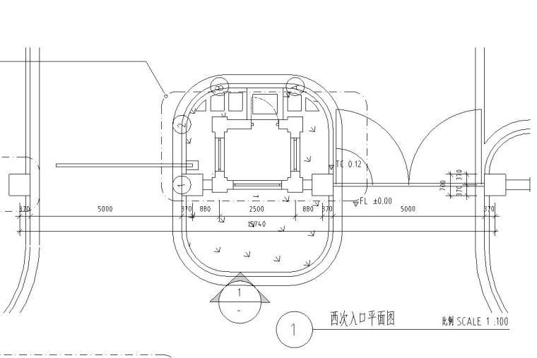 铁艺大门设计详图——泛亚景观
