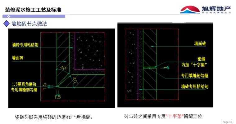 精装修泥工工程工艺节点做法图集_6