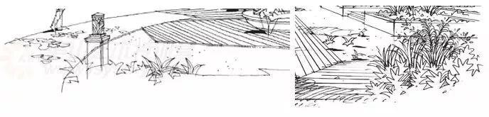 作为景观设计师必须掌握的景观线稿表现_30