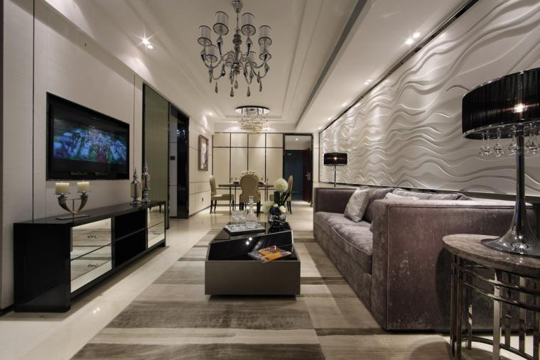 沈阳软装设计_窗帘壁纸搭配_现代风格家具搭配-1.jpg