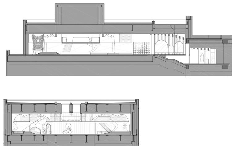 现代梦幻儿童体验区及商业配套设计施工图(附效果图)-32