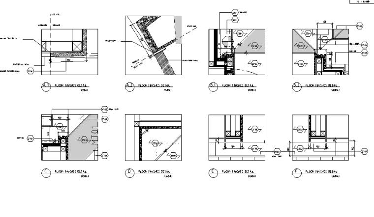 [上海]恒隆广场盟可睐Moncler专卖店设计施工图(附官方摄影图)-节点图