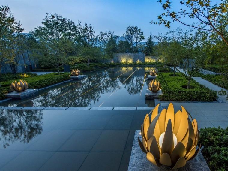 青岛融创都会中心示范区景观