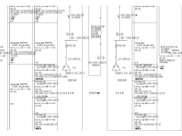 [浙江]杭州月星家居多层家居建材市场电气设计(品牌商业).