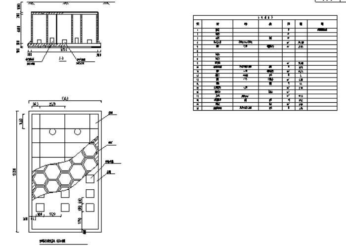 雨水回收利用大样图-海绵城市雨水收集景观施工图块 附施工图设计说