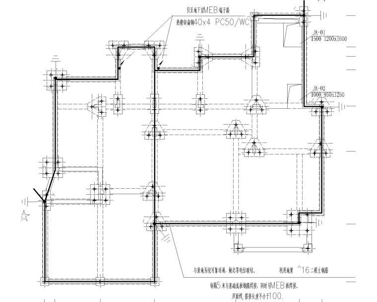 [上海]某别墅电气施工图纸(含强电、弱电等)