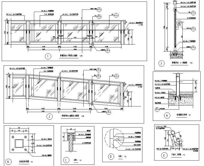 [重庆]生态组团式公租房景观设计全套施工图(园建+绿化+水电)_3