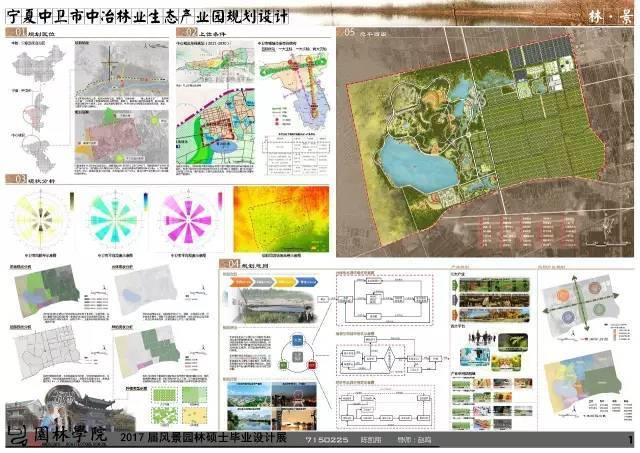 2017届北林风景园林硕士毕业展,或许这就是考不上北林的原因!_29
