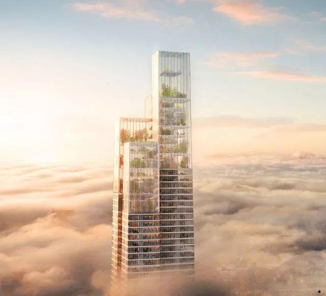 中国第一高楼再次被刷新。总高677米,中国第一,世界第二!_8