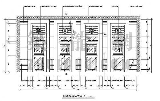 某银行营业厅装修图(二层)-3