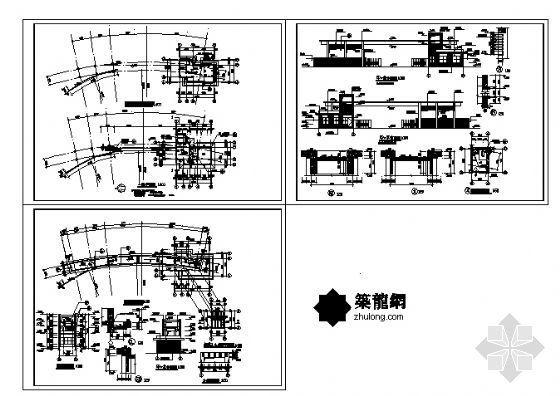某大门建筑施工图-4