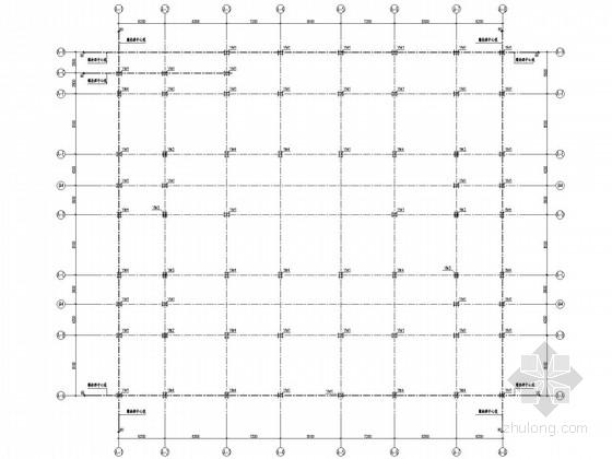 框架钢混农贸市场结构施工图