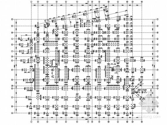 地下二层框剪结构地下室结构施工图