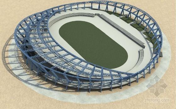 [江西]钢结构空间桁架体系体育场工程钢结构安装方案(技术标)