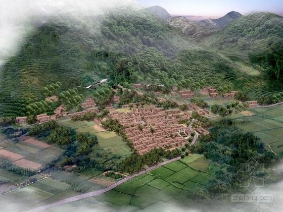 [河北]休闲生态度假旅游区农村面貌改造提升规划设计方案(原创)