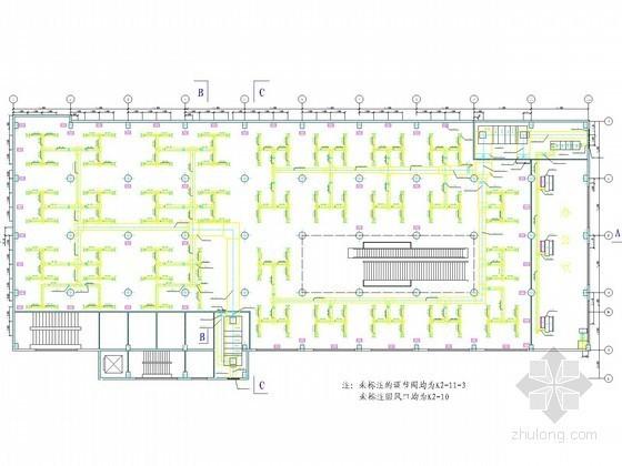 多套建筑空调通风系统设计施工图合辑