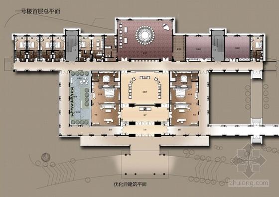 [广东]南方园林特色别墅宾馆改造概念性设计方案