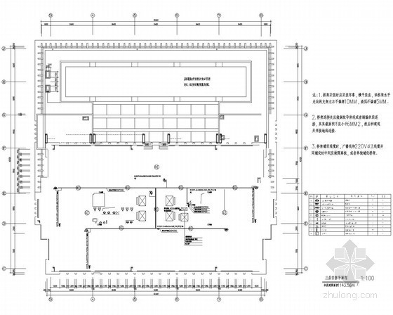 [江苏]高层商务办公楼较全弱电系统电气施工图