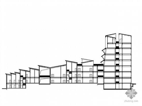 [湖南]吉首市某博物馆建筑设计施工图(张大师设计)