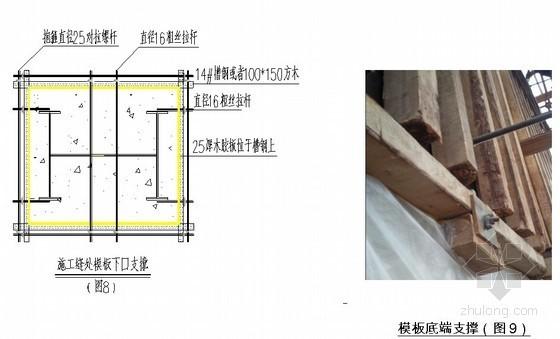 建筑工程超高A型清水混凝土塔柱施工工法