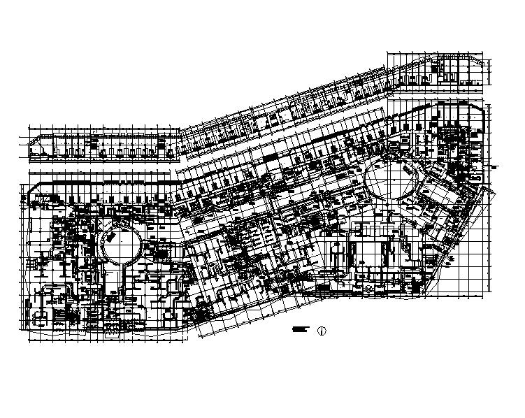 长春万达广场暖通全套施工图(160张)
