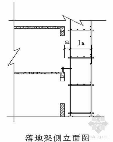河北省某四层现浇钢筋混凝土框架结构工程外脚手架施工方案