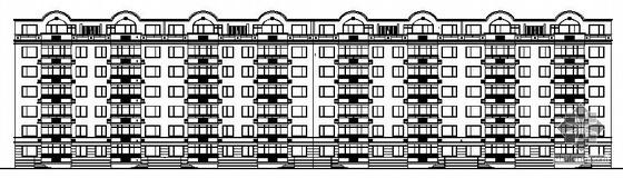 [黑龙江]某六层职工宿舍楼建筑施工图