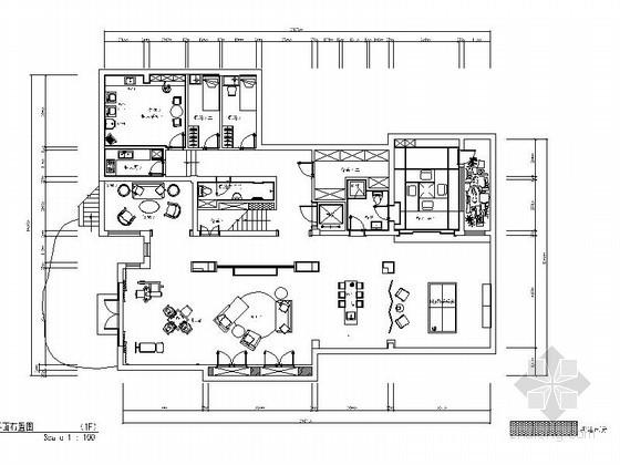 [无锡]豪华样板三层别墅完整施工图