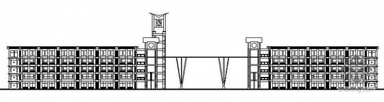 某实验学校五层教学楼建筑施工图