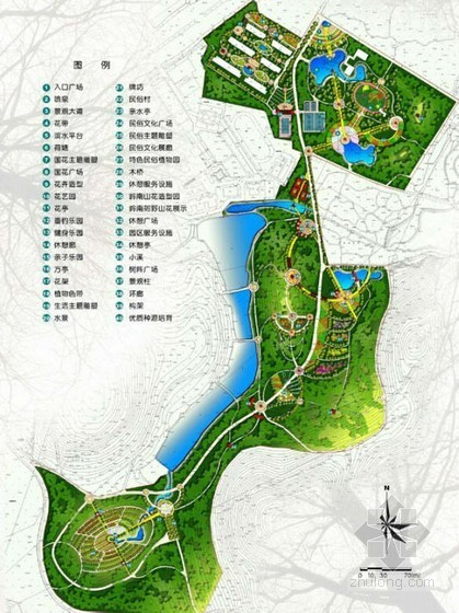 [广州]植物园生态园区景观规划设计一
