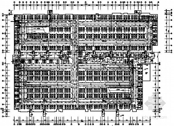 一类地下汽车库全套电气施工图纸