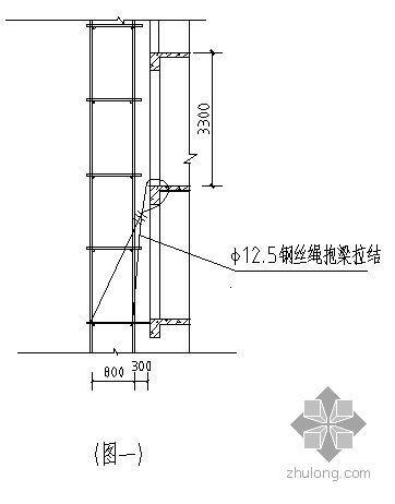 广西某综合楼外墙维修脚手架搭设施工方案