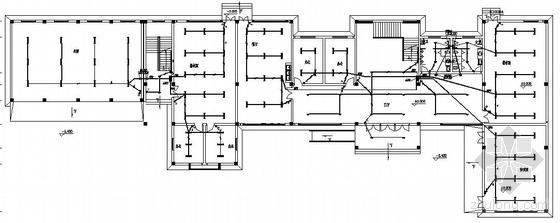 某二层办公室电气图纸