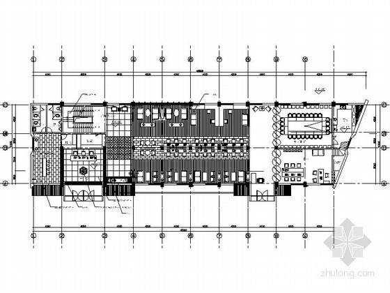 [无锡]某装饰公司总部办公空间装修图(含效果)